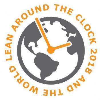 Die Uhr zum LeanAroundTheClock 2018 Event #LATC2018